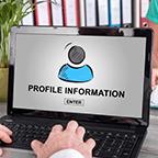プロフィール情報の入力・受取口座情報の入力
