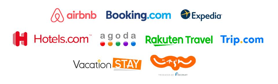 旅行や出張などで宿泊施設を借りたい人をマッチングするバケーションレンタルというサービスの画像
