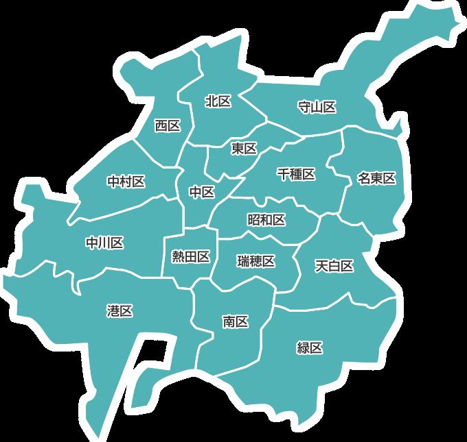 名古屋市マップ